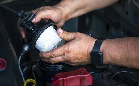 MINI Fuel FIlter Check